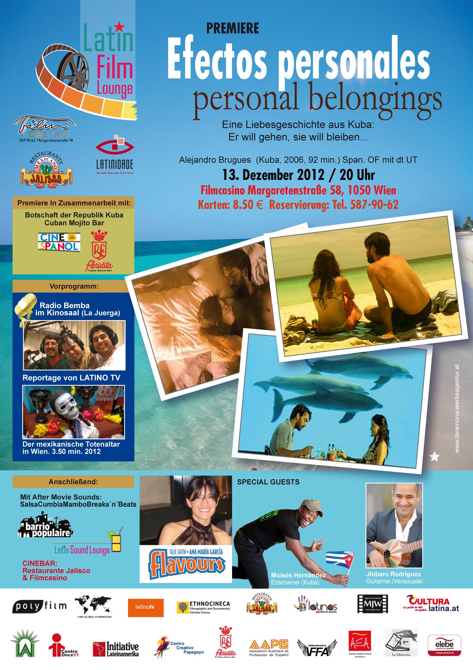 Flyer Filmcasino/Latinidade