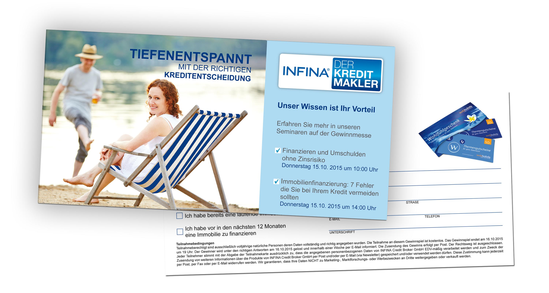 Gewinnkarte INFINA