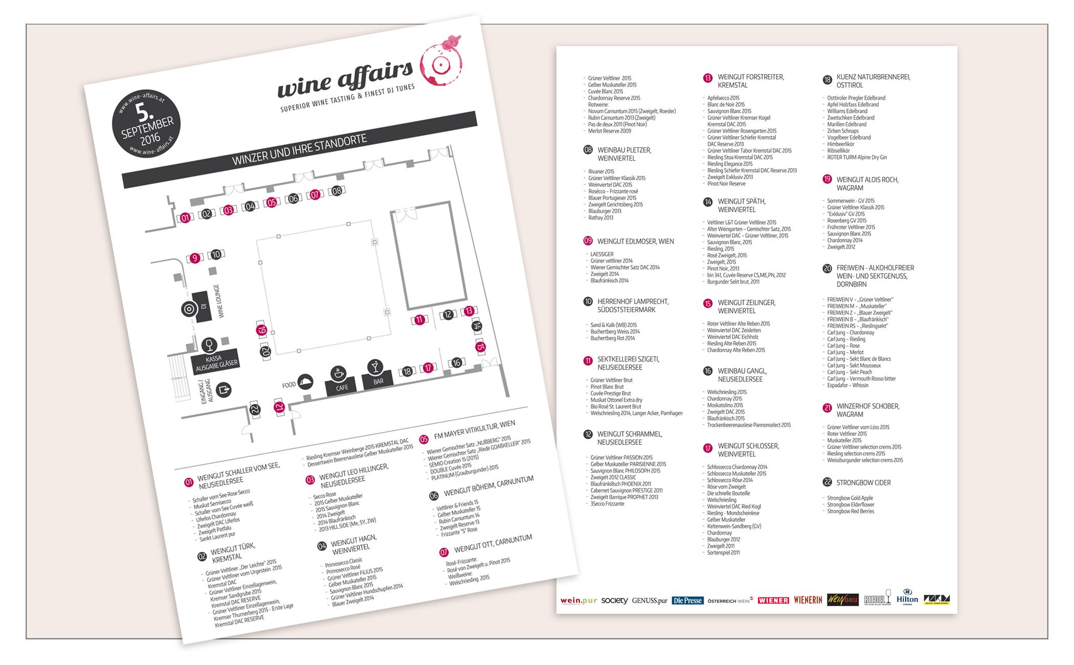wine affairs Plan